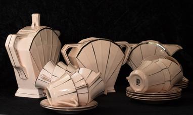 Beste Servies Art Deco, Frans 1920-1925 - Taxatie Antiek, Kunst en XP-46